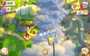 Angry Birds 2 saga map